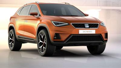 Seat 20V20 Crossover Concept Revealed In Geneva