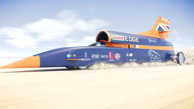 Bloodhound SSC World Land Speed Record Car Set For November Debut
