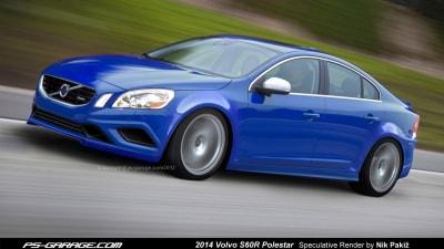 Polestar's Enhanced S60 Imagined: Rendering