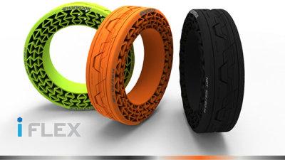 Hankook iFlex: Latest Airless Tyre Concept Unveiled