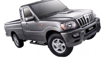 2009 Mahindra Pik-Up Gets More Safety, Better Looks