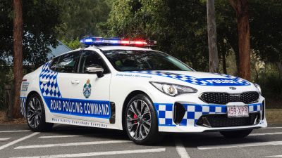 Police looking to expand Kia Stinger fleets