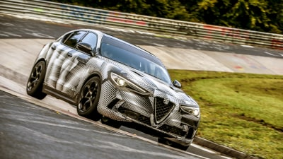 Alfa Romeo SUV sets new benchmark