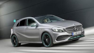 Updated Mercedes-Benz A-Class Range Detailed
