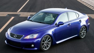 2009 Lexus IS F: First Impressions