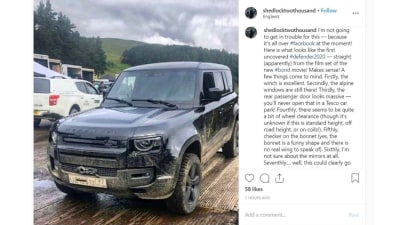 2020 Land Rover Defender leaked