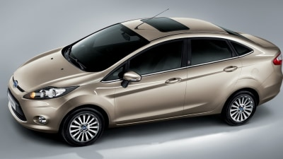 2011 Ford Fiesta Sedan And Hatch, With New Diesel And Twin-Clutch Auto Coming Late 2010