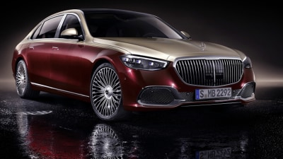 2021 Mercedes-Maybach S-Class limousine revealed