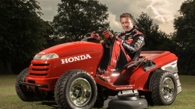Honda's UK Arm Unleashes A Mean (Mowing) Machine: Video