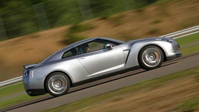 Nissan R35 GT-R driven by Fifth Gear