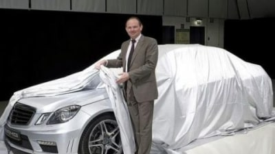 Mercedes-Benz Offers A Glimpse Of The E63 AMG