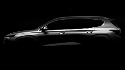 New Hyundai Santa Fe teased