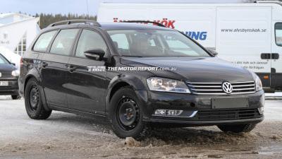 2014 Volkswagen Passat Spied