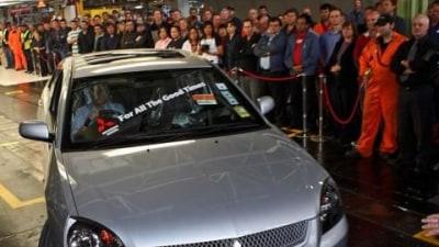 Making Cars @ Tonsley Park - The Mitsubishi Story
