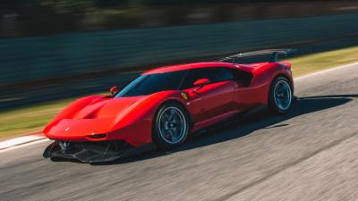 Ferrari reveals P80/C one-off track special