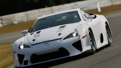 Lexus LFA Returning To The 24 Hours Of Nurburgring