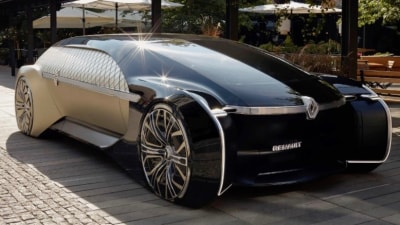 Renault previews limo of the future