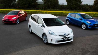 Toyota Prius v On Sale In Australia