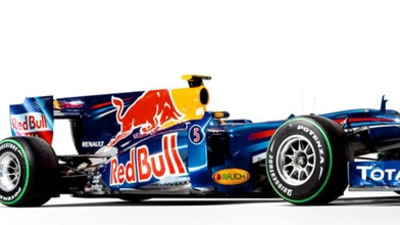 F1: 2010 Red Bull RB6 Revealed