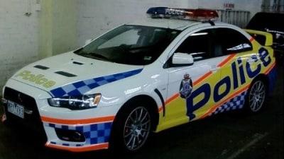 Mitsubishi EVO X Signed Up By Victoria Police