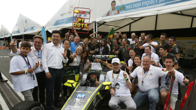 First Formula E Series Concludes, Piquet Junior Champion