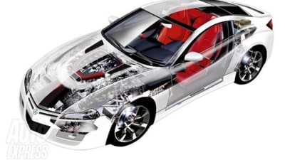 2010 Honda NSX Innards Revealed, Translucent Skin Not On Feature List