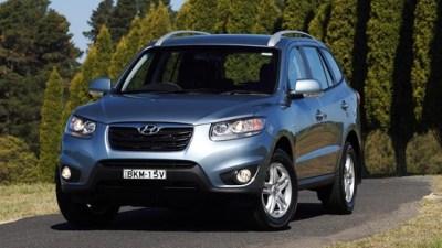 2010 Hyundai Santa Fe Announced For Australia, Available December