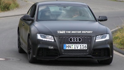 2011 Audi RS5 Spied Testing Ahead Of 2009 Frankfurt Motor Show