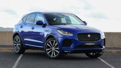 2018 Jaguar E-Pace P300 R-Dynamic HSE new car review
