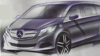 2015 Mercedes-Benz V-Class To Make Global Debut This Week
