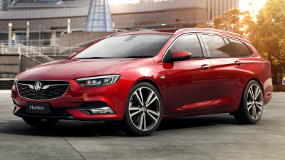 Holden Commodore Sportwagon Revealed For 2018 - New 'Flagship' Model