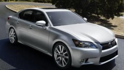 2012 Lexus GS Revealed, Australian Debut Early Next Year