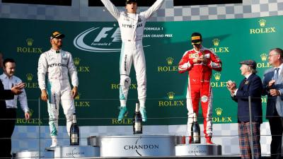 Formula One – Rosberg Wins Albert Park Thriller