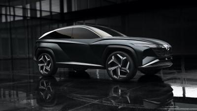 Hyundai Vision T plug-in hybrid concept previews next Tucson