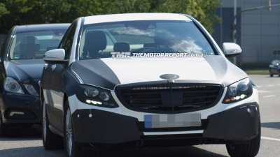 2014 Mercedes-Benz C-Class Spied Testing