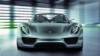 Porsche Planning Race-Ready 918 Concept: Report