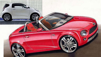 Retro-Inspired Roadster To Be Built Off Toyota iQ Platform?