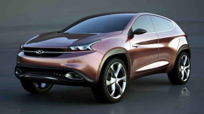 Chery Concept Pair Bound For Beijing