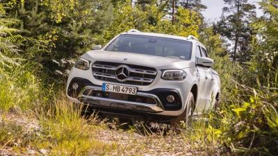 2018 Mercedes-Benz X-Class V6 preview drive