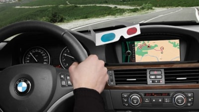 In-Car Satellite Navigation To Go 3D