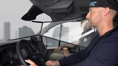 Ford creates in-car shields for Transit van to help fight coronavirus
