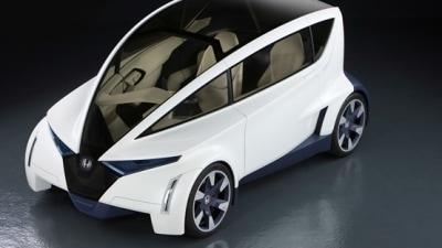 Honda P-NUT Micro Coupe Concept Unveiled At LA Auto Show