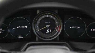 2021 Porsche 911 GT3 interior leaked