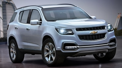 Chevrolet Trailblazer Revealed: Could It Get A Holden Badge?