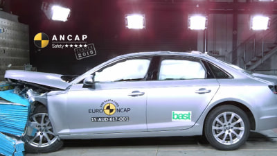 2016 Audi A4 Earns 5-Star ANCAP Safety Rating