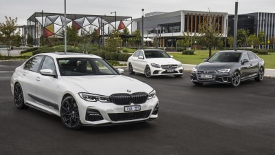 Luxury sedan comparison: BMW 330i v Mercedes-Benz C300 v Audi A4 45TFSI