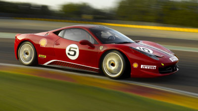 Ferrari 458 Italia Challenge Revealed Further In New Images