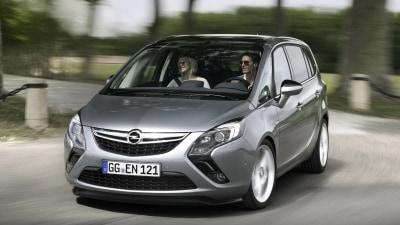 2012 Opel Zafira Revealed In Production Trim