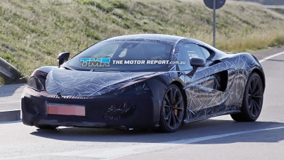 First McLaren Sports Series Model Spied Testing