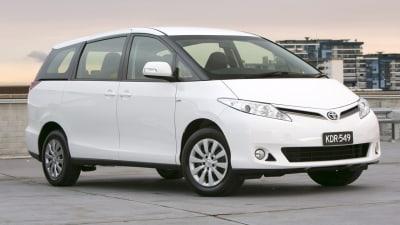 2012 Toyota Tarago Gets Price Cut, New Automatic Transmission